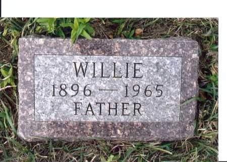 ISZLER, WILLIE - McIntosh County, North Dakota   WILLIE ISZLER - North Dakota Gravestone Photos