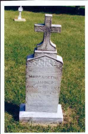 JAHNER, MARGARETHA - McIntosh County, North Dakota   MARGARETHA JAHNER - North Dakota Gravestone Photos