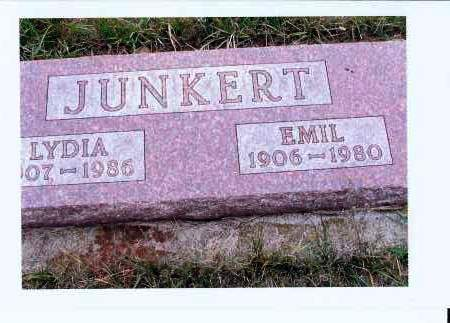 JUNKERT, EMIL - McIntosh County, North Dakota | EMIL JUNKERT - North Dakota Gravestone Photos