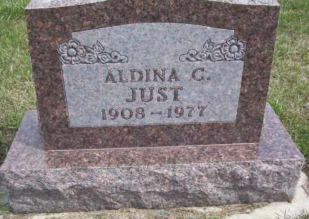 JUST, ALDINA C. - McIntosh County, North Dakota | ALDINA C. JUST - North Dakota Gravestone Photos