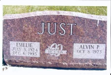 JUST, EMELIE - McIntosh County, North Dakota   EMELIE JUST - North Dakota Gravestone Photos