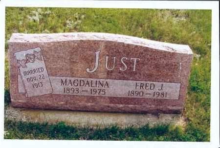 JUST, MAGDALINA - McIntosh County, North Dakota | MAGDALINA JUST - North Dakota Gravestone Photos