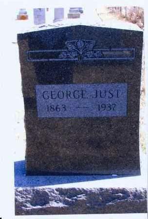 JUST, GEORGE - McIntosh County, North Dakota   GEORGE JUST - North Dakota Gravestone Photos