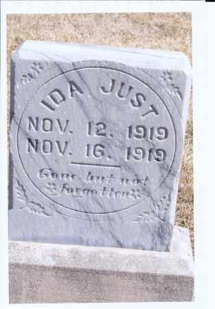 JUST, IDA - McIntosh County, North Dakota   IDA JUST - North Dakota Gravestone Photos