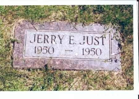 JUST, JERRY E. - McIntosh County, North Dakota   JERRY E. JUST - North Dakota Gravestone Photos