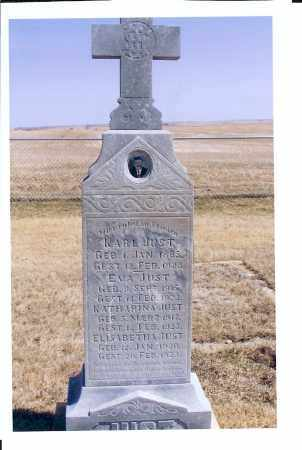 JUST, KARL - McIntosh County, North Dakota | KARL JUST - North Dakota Gravestone Photos