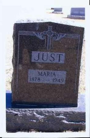 JUST, MARIA - McIntosh County, North Dakota | MARIA JUST - North Dakota Gravestone Photos