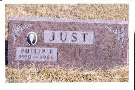 JUST, PHILIP P. - McIntosh County, North Dakota | PHILIP P. JUST - North Dakota Gravestone Photos