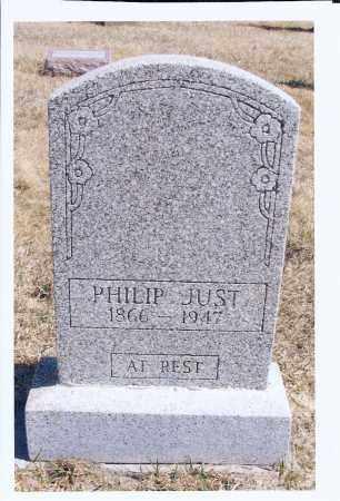 JUST, PHILIP - McIntosh County, North Dakota   PHILIP JUST - North Dakota Gravestone Photos