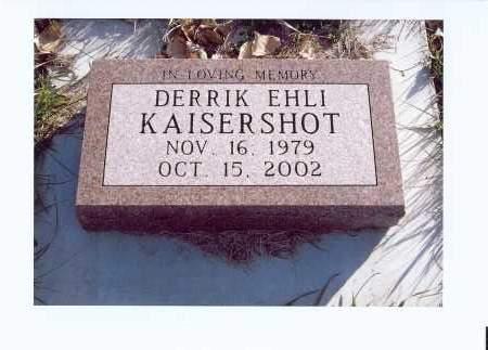 KAISERSHOT, DERRIK EHLI - McIntosh County, North Dakota | DERRIK EHLI KAISERSHOT - North Dakota Gravestone Photos
