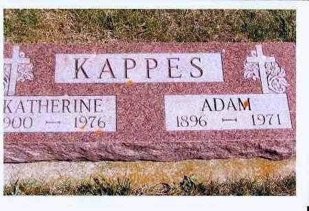 KAPPES, ADAM - McIntosh County, North Dakota | ADAM KAPPES - North Dakota Gravestone Photos