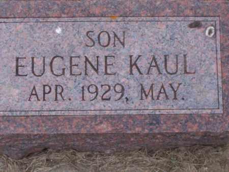 KAUL, EUGENE LENHART - McIntosh County, North Dakota | EUGENE LENHART KAUL - North Dakota Gravestone Photos