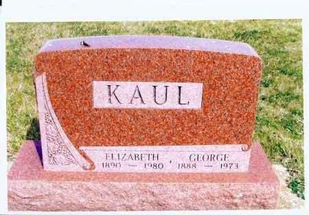 KAUL, GEORGE - McIntosh County, North Dakota | GEORGE KAUL - North Dakota Gravestone Photos