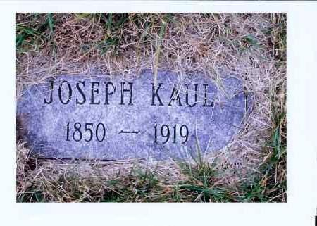 KAUL, JOSEPH - McIntosh County, North Dakota | JOSEPH KAUL - North Dakota Gravestone Photos