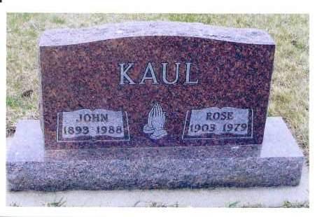 STROBEL KAUL, ROSE - McIntosh County, North Dakota   ROSE STROBEL KAUL - North Dakota Gravestone Photos