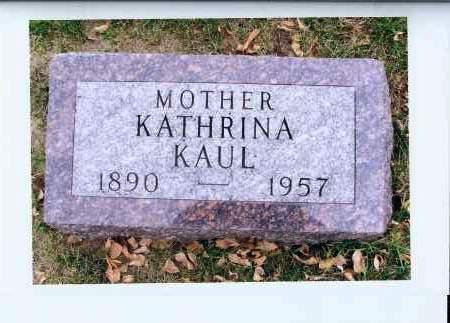 STEINWANDT KAUL, KATHRINA - McIntosh County, North Dakota | KATHRINA STEINWANDT KAUL - North Dakota Gravestone Photos