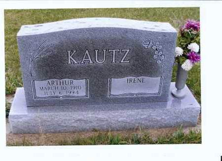 KAUTZ, ARTHUR - McIntosh County, North Dakota | ARTHUR KAUTZ - North Dakota Gravestone Photos