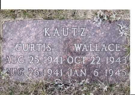 KAUTZ, CURTIS - McIntosh County, North Dakota | CURTIS KAUTZ - North Dakota Gravestone Photos