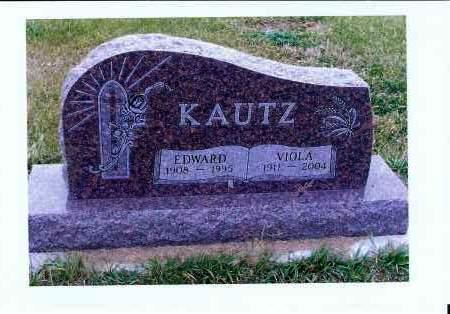 KAUTZ, EDWARD - McIntosh County, North Dakota | EDWARD KAUTZ - North Dakota Gravestone Photos