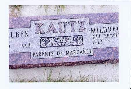 KAUTZ, REUBIN - McIntosh County, North Dakota | REUBIN KAUTZ - North Dakota Gravestone Photos