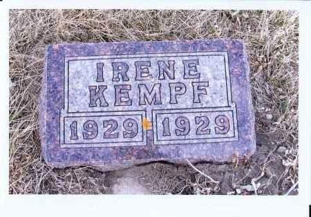 KEMPF, IRENE - McIntosh County, North Dakota   IRENE KEMPF - North Dakota Gravestone Photos