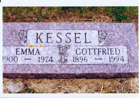 KESSEL, EMMA - McIntosh County, North Dakota | EMMA KESSEL - North Dakota Gravestone Photos