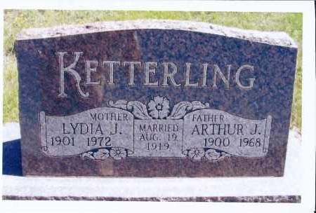 KETTERLING, ARTHUR J. - McIntosh County, North Dakota | ARTHUR J. KETTERLING - North Dakota Gravestone Photos