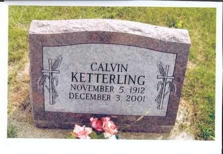 KETTERLING, CALVIN - McIntosh County, North Dakota | CALVIN KETTERLING - North Dakota Gravestone Photos