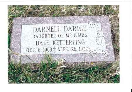 KETTERLING, DARNELL DARICE - McIntosh County, North Dakota | DARNELL DARICE KETTERLING - North Dakota Gravestone Photos