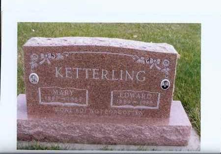 KETTERLING, EDWARD - McIntosh County, North Dakota | EDWARD KETTERLING - North Dakota Gravestone Photos