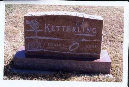 KETTERLING, EDWIN G. - McIntosh County, North Dakota | EDWIN G. KETTERLING - North Dakota Gravestone Photos