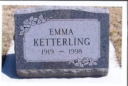 KETTERLING, EMMA - McIntosh County, North Dakota   EMMA KETTERLING - North Dakota Gravestone Photos