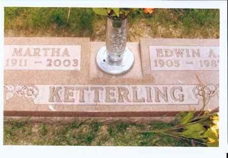 KETTERLING, MARTHA - McIntosh County, North Dakota | MARTHA KETTERLING - North Dakota Gravestone Photos