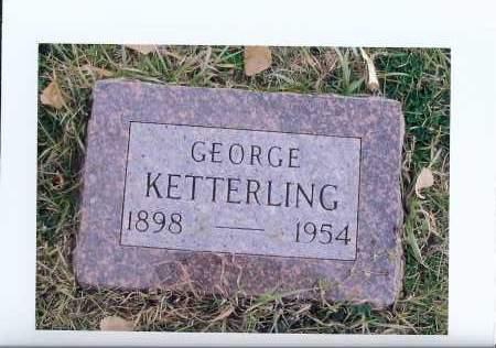 KETTERLING, GEORGE - McIntosh County, North Dakota | GEORGE KETTERLING - North Dakota Gravestone Photos