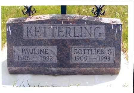 KETTERLING, PAULINE - McIntosh County, North Dakota | PAULINE KETTERLING - North Dakota Gravestone Photos