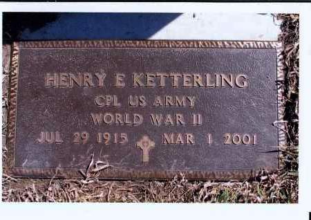 KETTERLING, HENRY E. - McIntosh County, North Dakota | HENRY E. KETTERLING - North Dakota Gravestone Photos