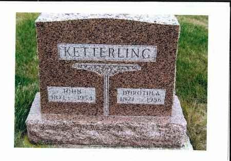 KETTERLING, JOHN - McIntosh County, North Dakota | JOHN KETTERLING - North Dakota Gravestone Photos