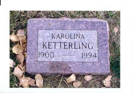 KETTERLING, KAROLINA - McIntosh County, North Dakota | KAROLINA KETTERLING - North Dakota Gravestone Photos