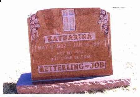 WOLFF KETTERLING, KATHARINA - JOB - McIntosh County, North Dakota | KATHARINA - JOB WOLFF KETTERLING - North Dakota Gravestone Photos