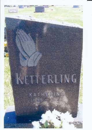 KETTERLING, KATHERINA - McIntosh County, North Dakota | KATHERINA KETTERLING - North Dakota Gravestone Photos