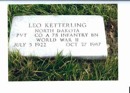 KETTERLING, LEO - McIntosh County, North Dakota | LEO KETTERLING - North Dakota Gravestone Photos