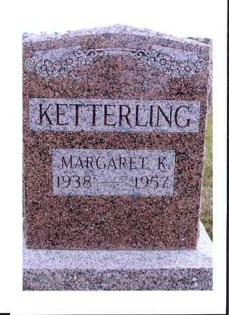 KETTERLING, MARGAARET K. - McIntosh County, North Dakota | MARGAARET K. KETTERLING - North Dakota Gravestone Photos