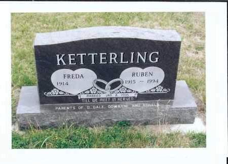 KETTERLING, RUBEN - McIntosh County, North Dakota | RUBEN KETTERLING - North Dakota Gravestone Photos