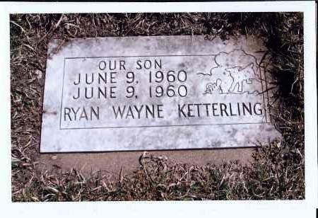 KETTERLING, RYAN WAYNE - McIntosh County, North Dakota   RYAN WAYNE KETTERLING - North Dakota Gravestone Photos