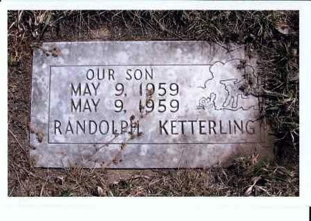 KETTERLING, RANDOLPH - McIntosh County, North Dakota | RANDOLPH KETTERLING - North Dakota Gravestone Photos