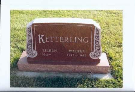KETTERLING, WALTER - McIntosh County, North Dakota | WALTER KETTERLING - North Dakota Gravestone Photos
