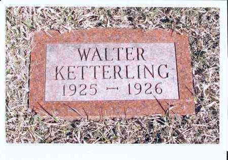 KETTERLING, WALTER - McIntosh County, North Dakota | WALTER KETTERLING - North Dakota Gravestone Photos