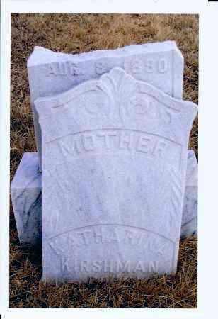 KAUL KIRSHMAN, KATHARINA - McIntosh County, North Dakota | KATHARINA KAUL KIRSHMAN - North Dakota Gravestone Photos
