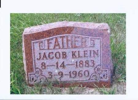 KLEIN, JACOB - McIntosh County, North Dakota | JACOB KLEIN - North Dakota Gravestone Photos