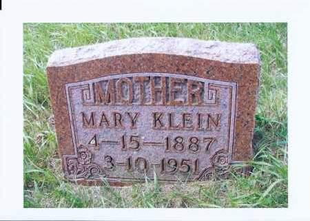 KLEIN, MARY - McIntosh County, North Dakota | MARY KLEIN - North Dakota Gravestone Photos